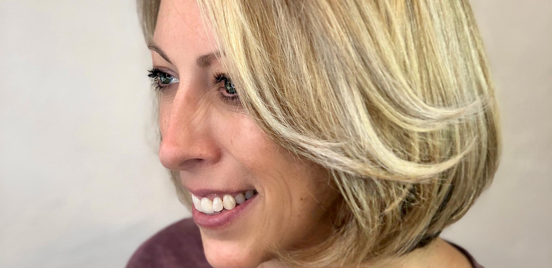 Shadow Root Blonde + Healthy Hair Treatm