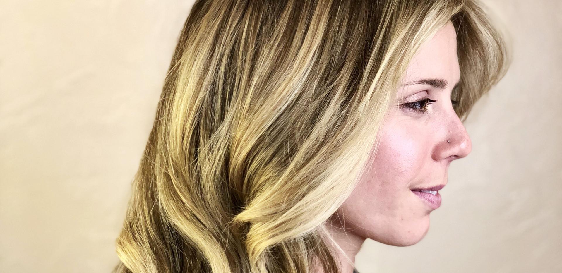 Shadow Root Balayage + Healthy Hair Trea