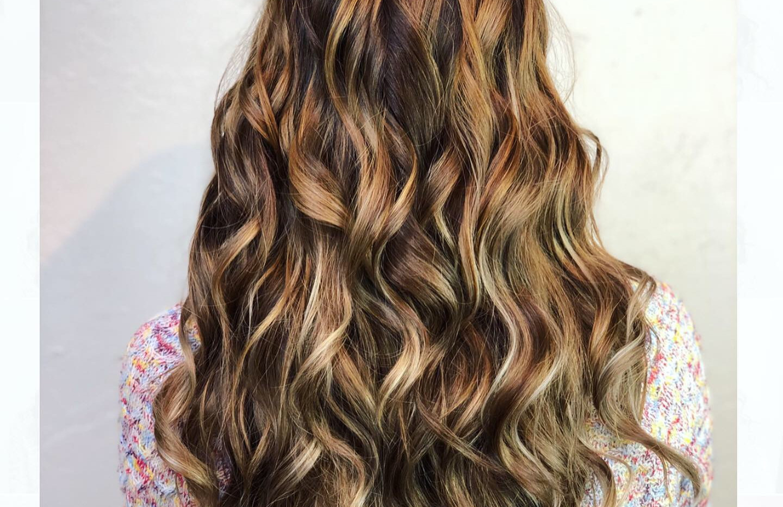Brunette Balayage + Healthy Hair Treatme