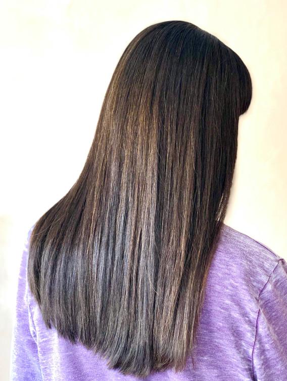 Healthy Hair Treatment + Long Cut