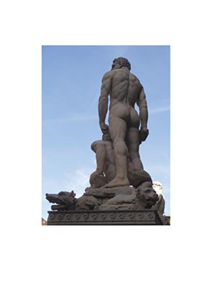 Peek A Boo David, Piazza della Signoria, Florence