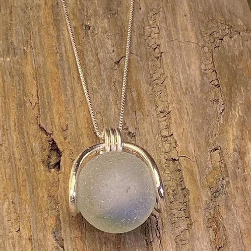 Seaglass Marble Pendant