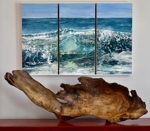 Wave Burl Platter