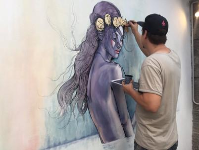 Adrian Avila at work