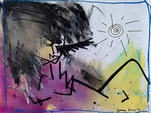 JENNY PEREZ. 'CATCHING SUN'