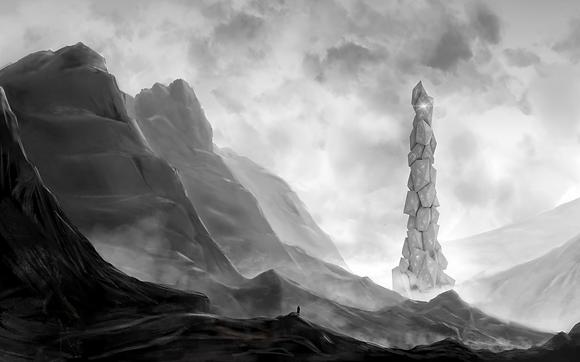 Imaginary Architecture Landscape 01, 2020