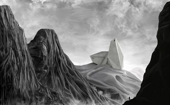 Imaginary Architecture Landscape 02, 2020