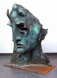 Oscar Estruga, Mascara 3 (1987), bronze sculptures available