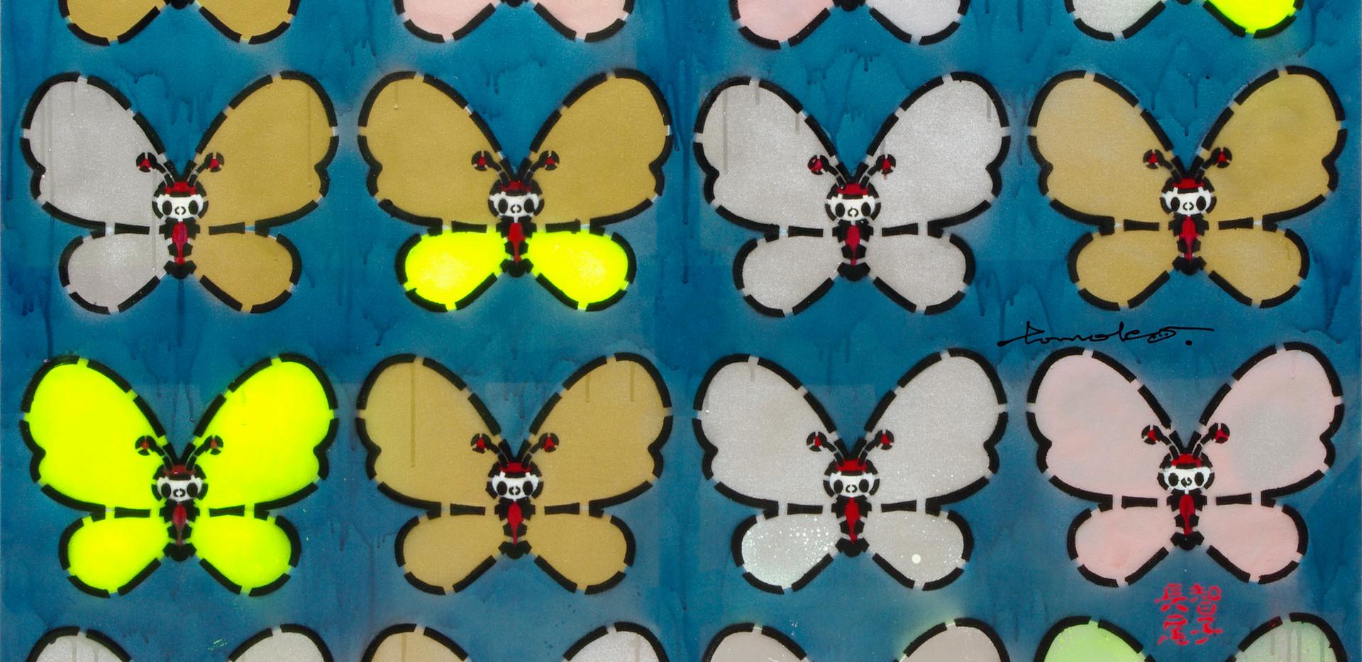 Tomoko Nagao - Butterflies 16 Bluemetal (2019)
