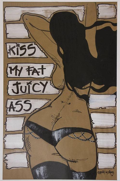 CLAUDIA LA BIANCA. 'FAT AND JUICY'
