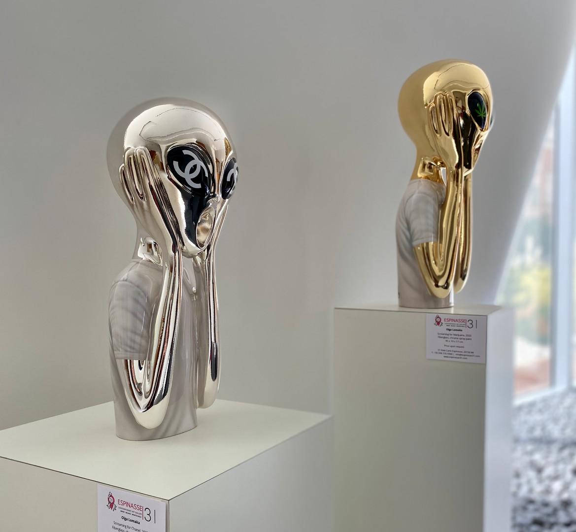 Works by Olga Lomaka