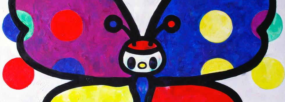 Tomoko Nagao - Butterfly with Dotts (2020)
