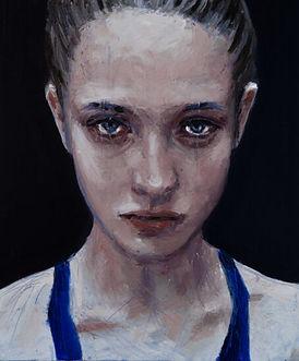 Silvia Berton, Teen (2020), oil painting artwork