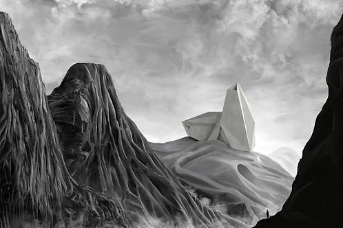 MARCELLO SILVESTRE. 'IMAGINARY ARCHITECTURE LANDSCAPE 2'