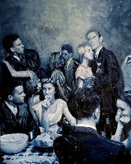 Silvia Berton, Memories (2021), oil painting artwork