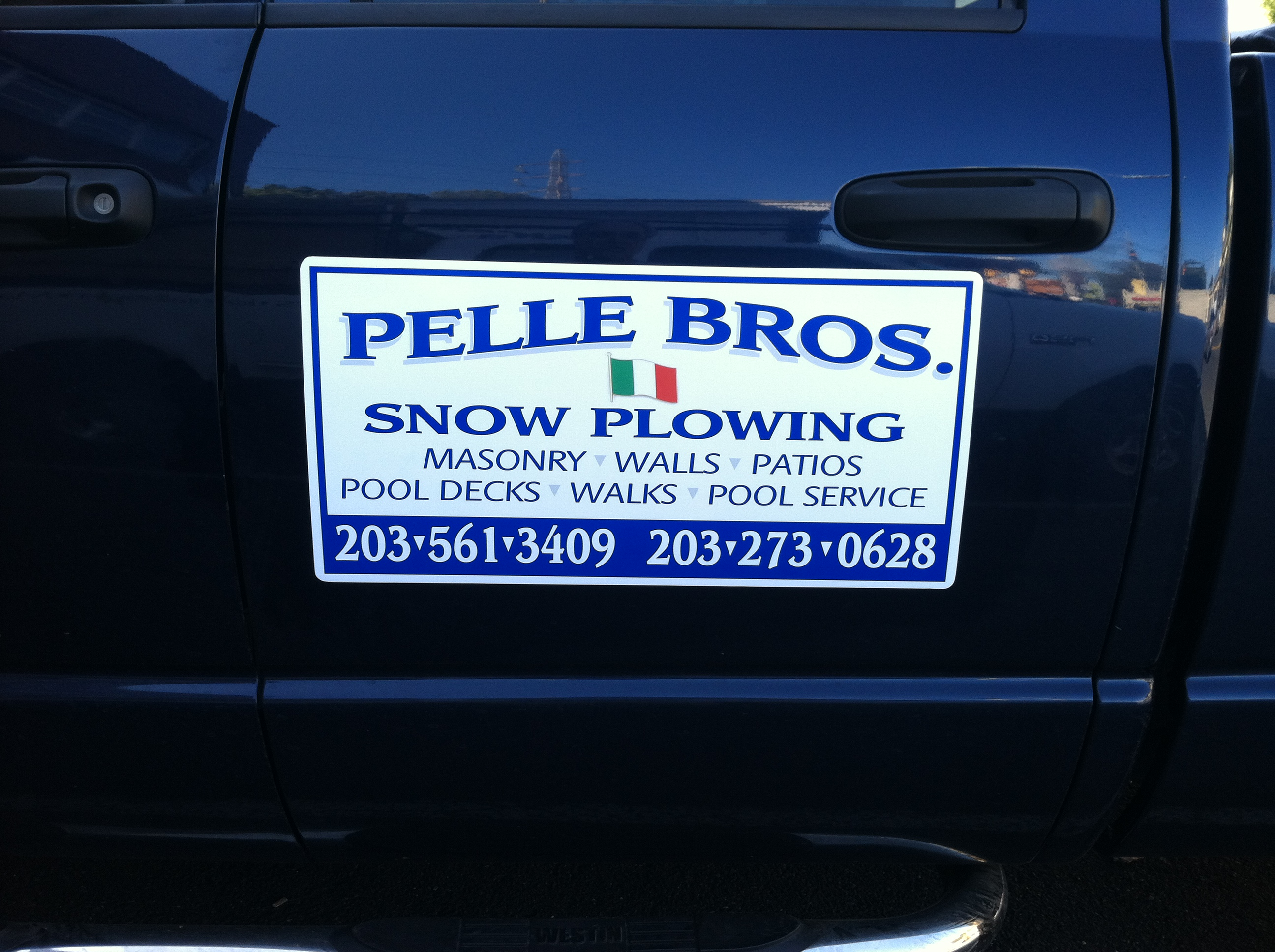 Magnetic Sign - Pelle Bros.