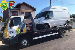 Três homens são presos após roubar van com carga de vinho avaliado em cerca de R$ 90 mil reais