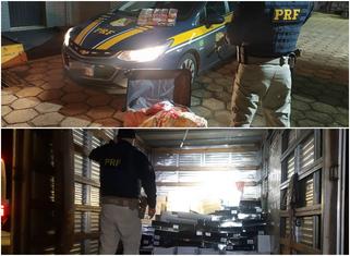 PRF apreende droga e vinho contrabandeado durante operação em Candói