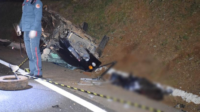 Jovem perde a vida em acidente na madrugada deste domingo