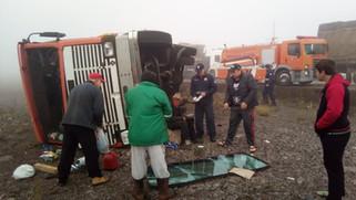 Dois acidentes no mesmo local provocam interdição da BR 163 em Santa Lucia