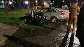 Homem fica ferido após acidente no centro de Renascença