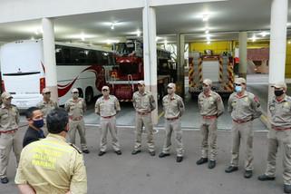 Bombeiros do Paraná vão ajudar no combate a incêndio no Pantanal
