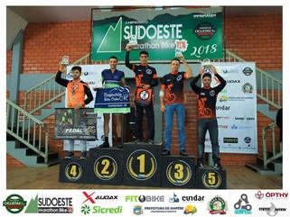 Capanemenses sobem ao podium na 5ª Etapa Sudoeste Marathon Bike em Ampére