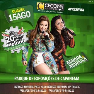 Confira a programação de shows para a Feira do Melado 2018