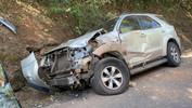 Grave acidente deixa casal e criança feridos na PR-182