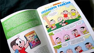 Sicredi lança terceira edição a terceira edição da revista Turma da Mônica com o tema Educação Finan