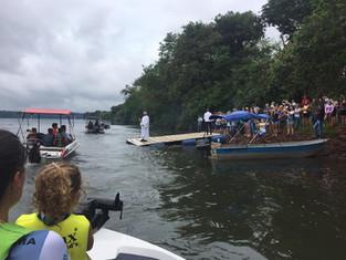 Mais de 700 pessoas participaram da festa de Nossa Senhora dos Navegantes em Capanema