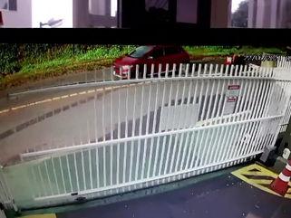 Câmera mostra momento em que motociclista atira e mata mulher em Curitiba