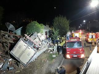 Motorista de Marmeleiro morre em acidente em Santa Catarina