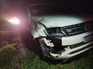 Mulher morre após ser atropelada por caminhonete na PR-158
