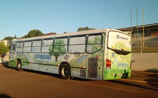 Ônibus de educação ambiental da Sanepar chega a Capanema