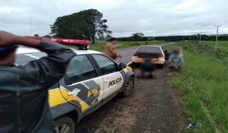 Veículo furtado em Reserva do Iguaçu é recuperado pela polícia