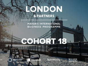 eXate accepted onto the Mayor's International Business Programme!