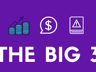 The Big 3 in Business and Data