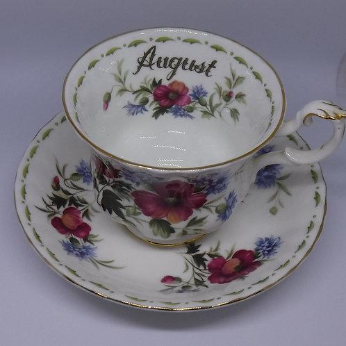 Jan's Poppy Teacup