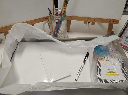 Large Flat Canvas Bundled Gift Set