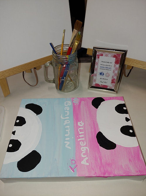 8 x 10 Canvas Bundled Gift Set