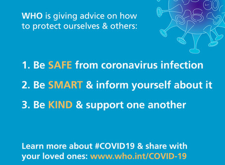 "Be Ready: WHO urges people to ""turn anxiety into action"" to slow spread of COVID-19"