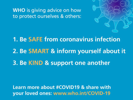 """Be Ready: WHO urges people to """"turn anxiety into action"""" to slow spread of COVID-19"""
