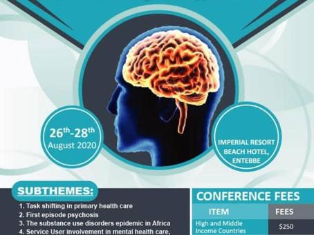 Uganda Psychiatric Association announces co-sponsored congress