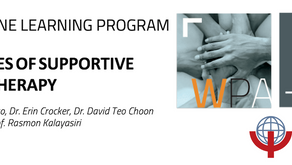 Registration now open for new WPA online learning course: Principles of Supportive Psychotherapy