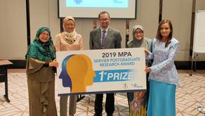 Malaysian Psychiatric Association Best Practice and Postgraduate Research Award