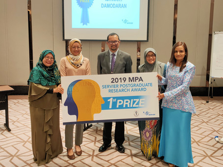 Malaysian Psychiatric Association Best Practice and Postgraduate Research Award