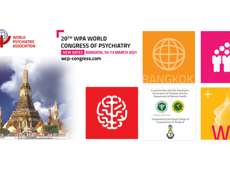 The 20th WPA World Congress of Psychiatry has moved to 10-13 March 2021