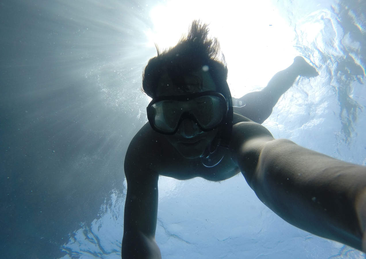 Snorkel In The Sea of the Cyclops