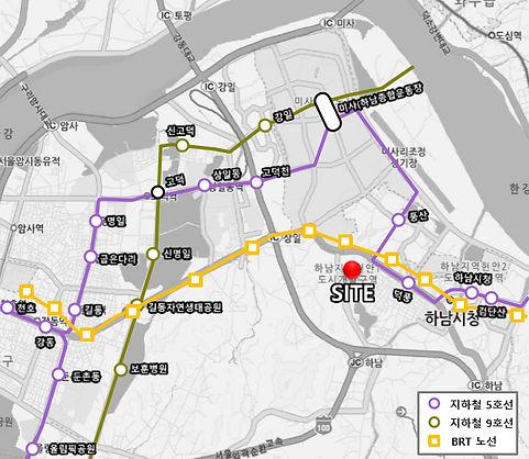 간선급행버스 지하철 5호선 9호선 연장